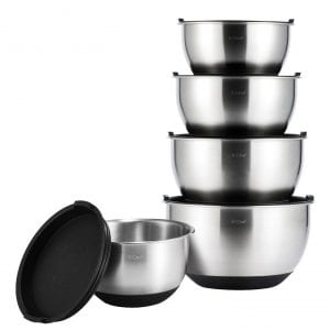 Top 8 Best Stainless Steel Mixing Bowls Reviews