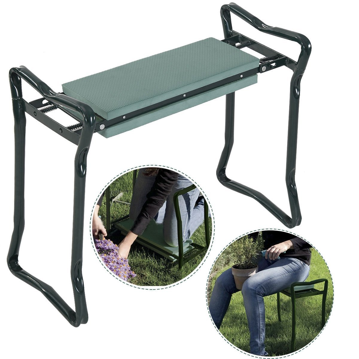 Top 8 Best Folding Garden Kneeler Seats Reviews